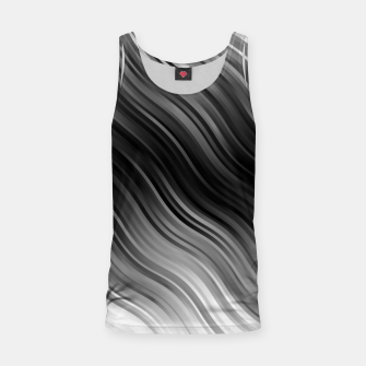 Thumbnail image of Stripes Wave Pattern 10 bwi Tank Top, Live Heroes
