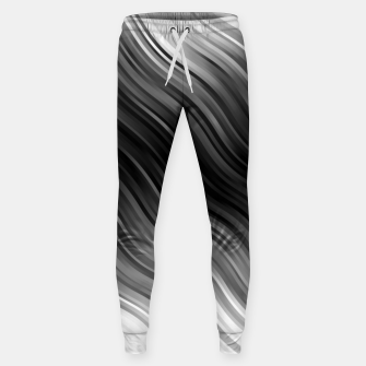 Thumbnail image of Stripes Wave Pattern 10 bwi Sweatpants, Live Heroes