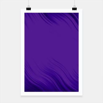 Thumbnail image of Stripes Wave Pattern 10 pb Poster, Live Heroes