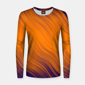 Thumbnail image of Stripes Wave Pattern 10 po Women sweater, Live Heroes