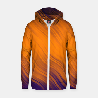 Thumbnail image of Stripes Wave Pattern 10 po Zip up hoodie, Live Heroes