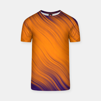 Thumbnail image of Stripes Wave Pattern 10 po T-shirt, Live Heroes