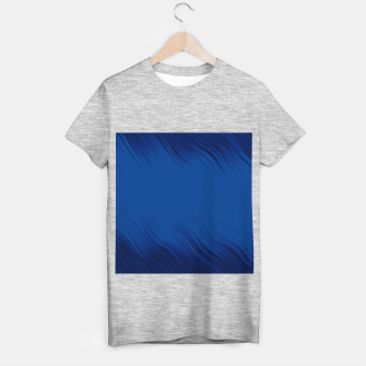 Stripes Wave Pattern 10 db T-shirt regular thumbnail image