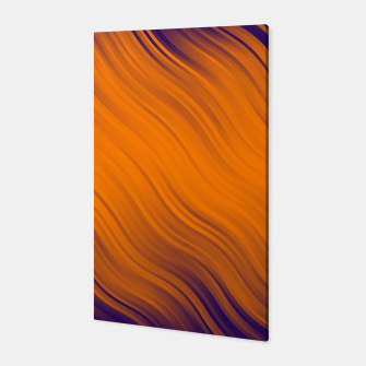 Thumbnail image of Stripes Wave Pattern 10 po Canvas, Live Heroes