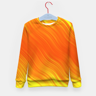 Thumbnail image of Stripes Wave Pattern 10 yoi Kid's sweater, Live Heroes