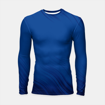 Stripes Wave Pattern 10 db Longsleeve rashguard  thumbnail image
