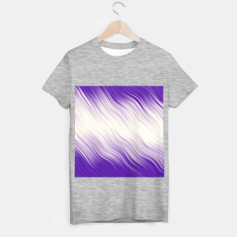 Stripes Wave Pattern 10 pp T-shirt regular miniature