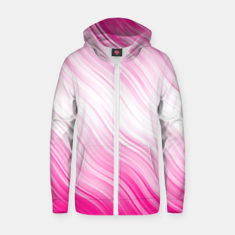 Stripes Wave Pattern 10 dp Zip up hoodie thumbnail image