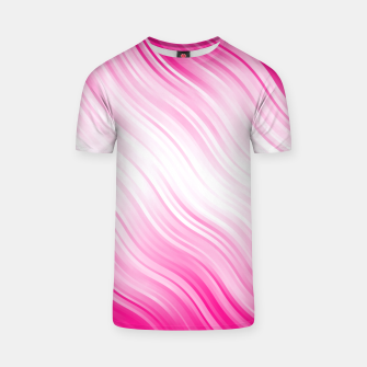 Stripes Wave Pattern 10 dp T-shirt Bild der Miniatur