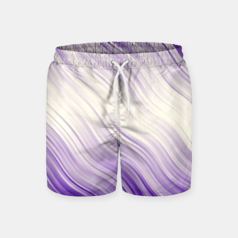 Stripes Wave Pattern 10 pp Swim Shorts miniature