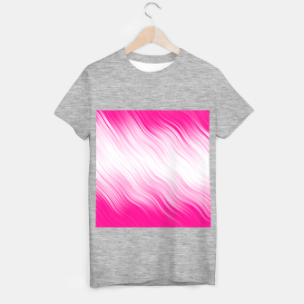 Stripes Wave Pattern 10 dp T-shirt regular Bild der Miniatur