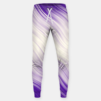 Stripes Wave Pattern 10 pp Sweatpants miniature