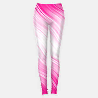 Stripes Wave Pattern 10 dp Leggings Bild der Miniatur
