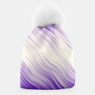 Stripes Wave Pattern 10 pp Beanie miniature
