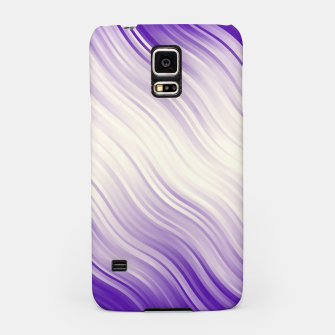 Stripes Wave Pattern 10 pp Samsung Case miniature