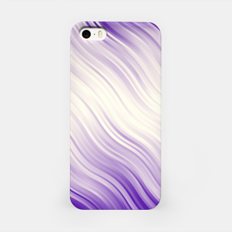 Stripes Wave Pattern 10 pp iPhone Case miniature