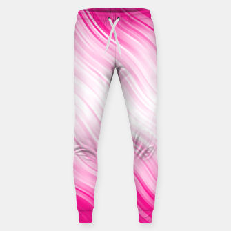Stripes Wave Pattern 10 dp Sweatpants Bild der Miniatur