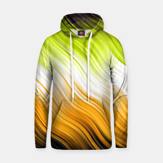 Stripes Wave Pattern 10 std Hoodie Bild der Miniatur