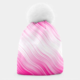 Stripes Wave Pattern 10 dp Beanie Bild der Miniatur