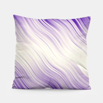 Stripes Wave Pattern 10 pp Pillow miniature