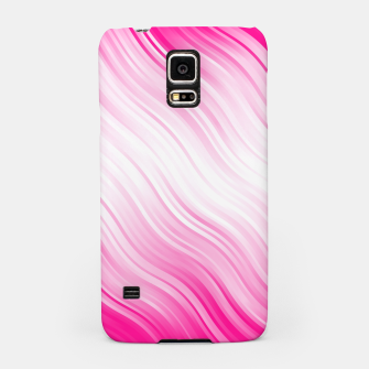 Stripes Wave Pattern 10 dp Samsung Case Bild der Miniatur