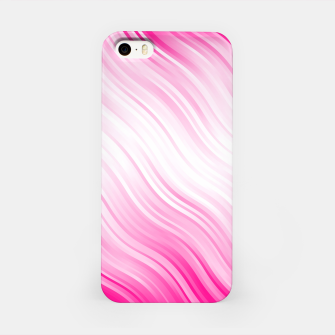 Stripes Wave Pattern 10 dp iPhone Case Bild der Miniatur