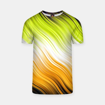Stripes Wave Pattern 10 std T-shirt thumbnail image