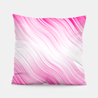 Stripes Wave Pattern 10 dp Pillow Bild der Miniatur