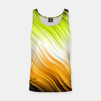 Stripes Wave Pattern 10 std Tank Top miniature
