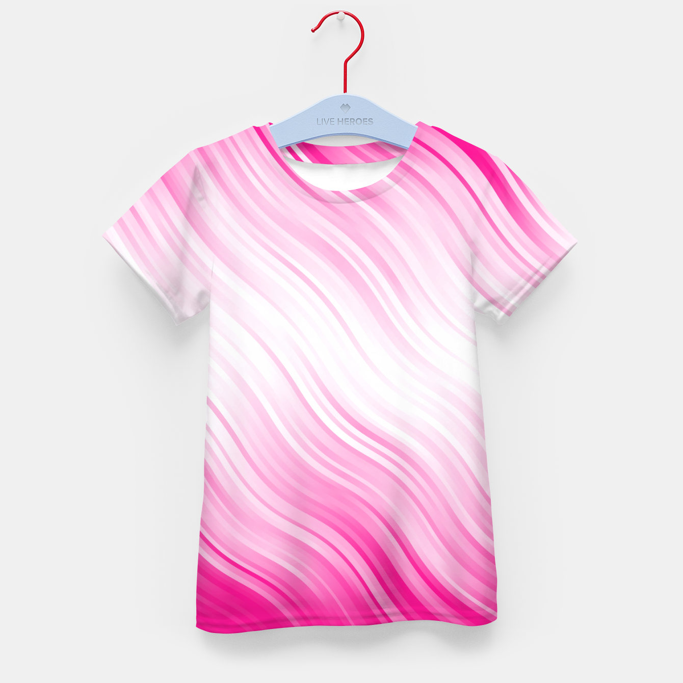 Foto Stripes Wave Pattern 10 dp Kid's t-shirt - Live Heroes