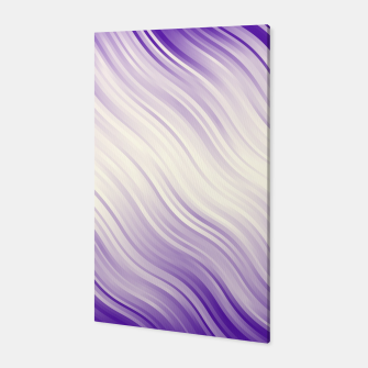 Stripes Wave Pattern 10 pp Canvas miniature