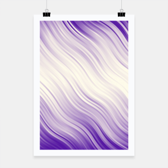 Stripes Wave Pattern 10 pp Poster miniature