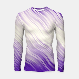Stripes Wave Pattern 10 pp Longsleeve rashguard  miniature