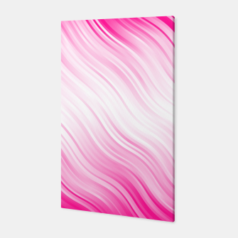 Stripes Wave Pattern 10 dp Canvas Bild der Miniatur
