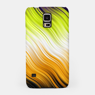 Stripes Wave Pattern 10 std Samsung Case Bild der Miniatur