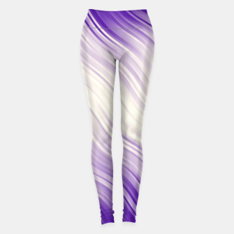 Stripes Wave Pattern 10 pp Leggings miniature