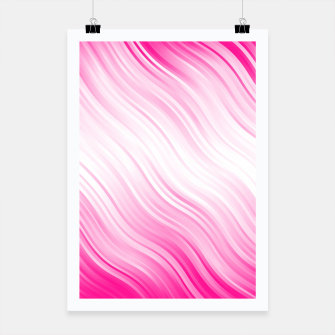 Stripes Wave Pattern 10 dp Poster miniature