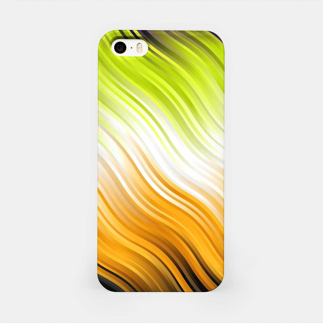 Foto Stripes Wave Pattern 10 std iPhone Case - Live Heroes