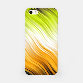 Stripes Wave Pattern 10 std iPhone Case miniature