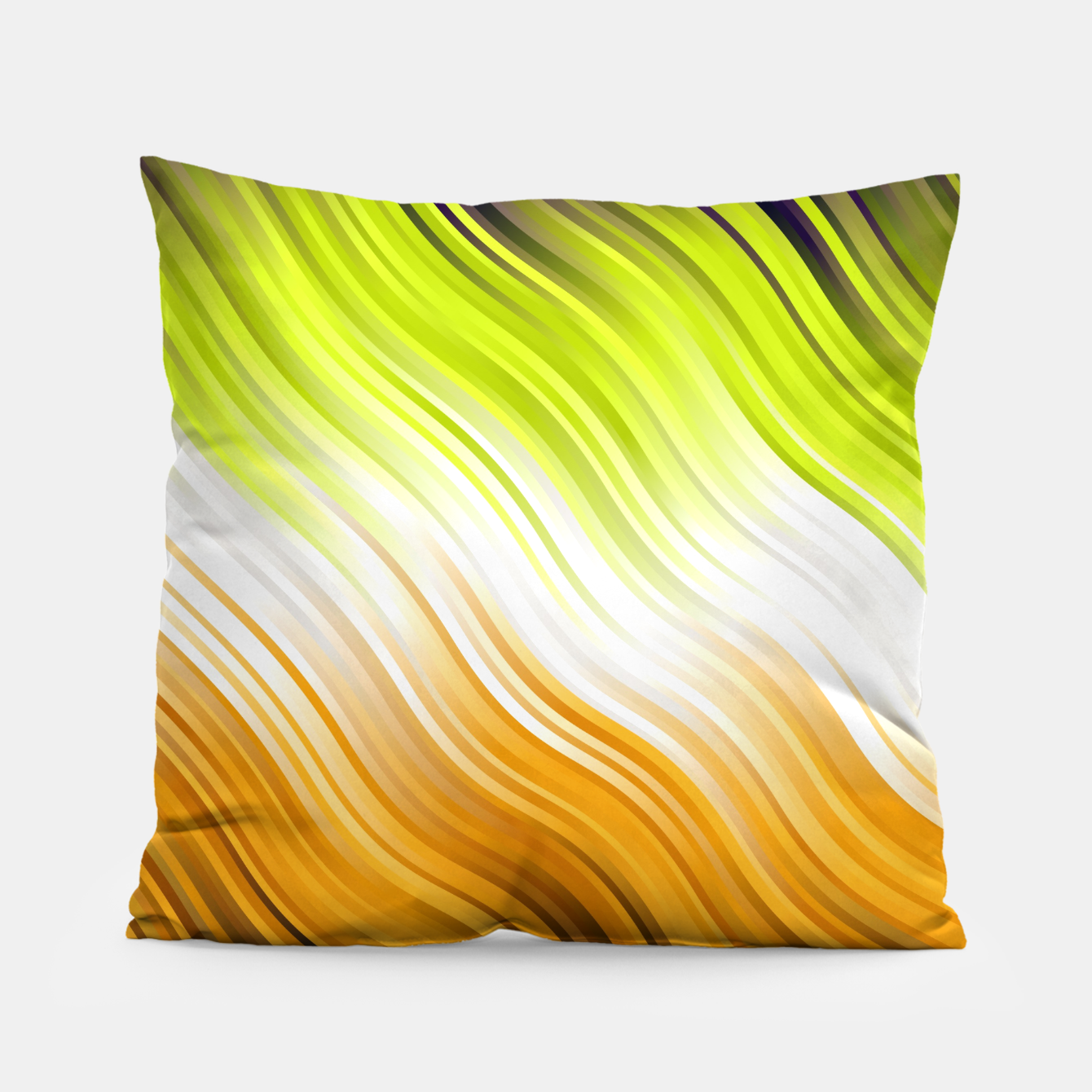 Image of Stripes Wave Pattern 10 std Pillow - Live Heroes