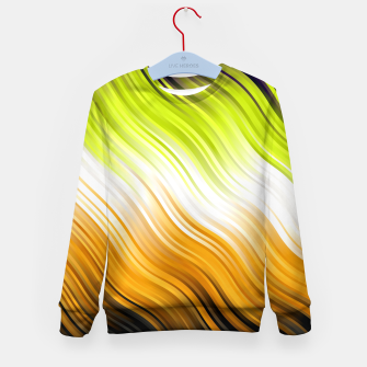 Stripes Wave Pattern 10 std Kid's sweater thumbnail image