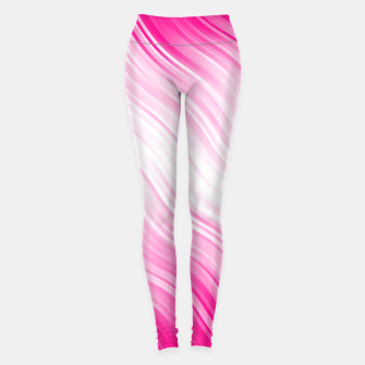 Miniatur Stripes Wave Pattern 10 dp Leggings, Live Heroes
