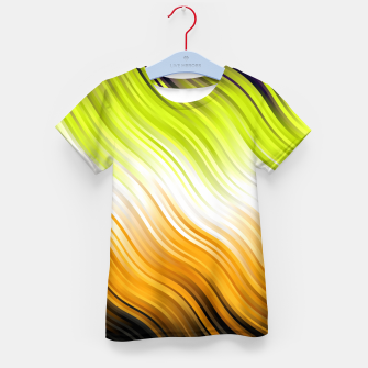 Stripes Wave Pattern 10 std Kid's t-shirt thumbnail image