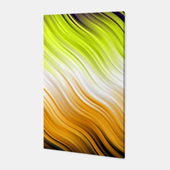 Stripes Wave Pattern 10 std Canvas Bild der Miniatur