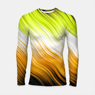 Stripes Wave Pattern 10 std Longsleeve rashguard  miniature