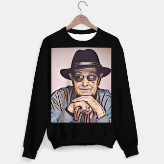 Thumbnail image of Portrait photo of Manoel de Oliveira, Portuguese film director Sweater regular, Live Heroes