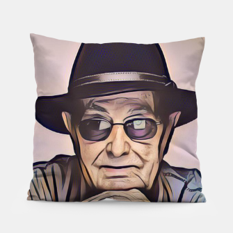 Thumbnail image of Portrait photo of Manoel de Oliveira, Portuguese film director Pillow, Live Heroes