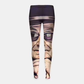 Thumbnail image of Portrait photo of Manoel de Oliveira, Portuguese film director Girl's leggings, Live Heroes