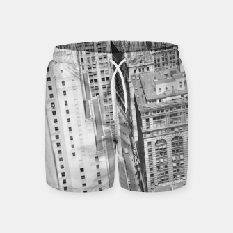 Buildings New York berenice Swim Shorts obraz miniatury