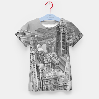 Buildings New York berenice Kid's t-shirt obraz miniatury